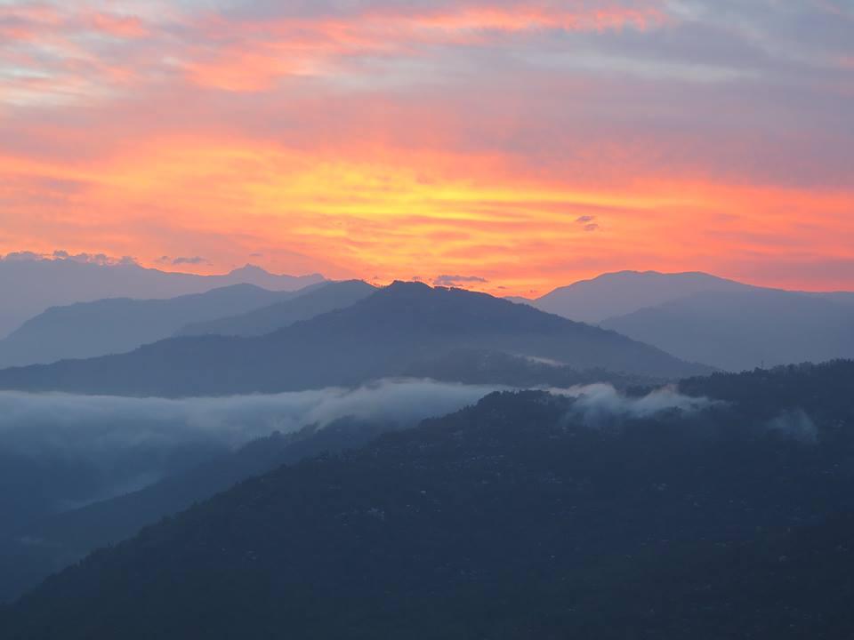 himalaya coucher du soleil 2