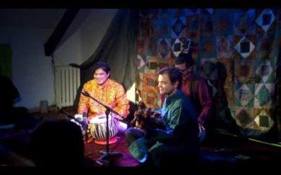 Concert de musique de l'Inde