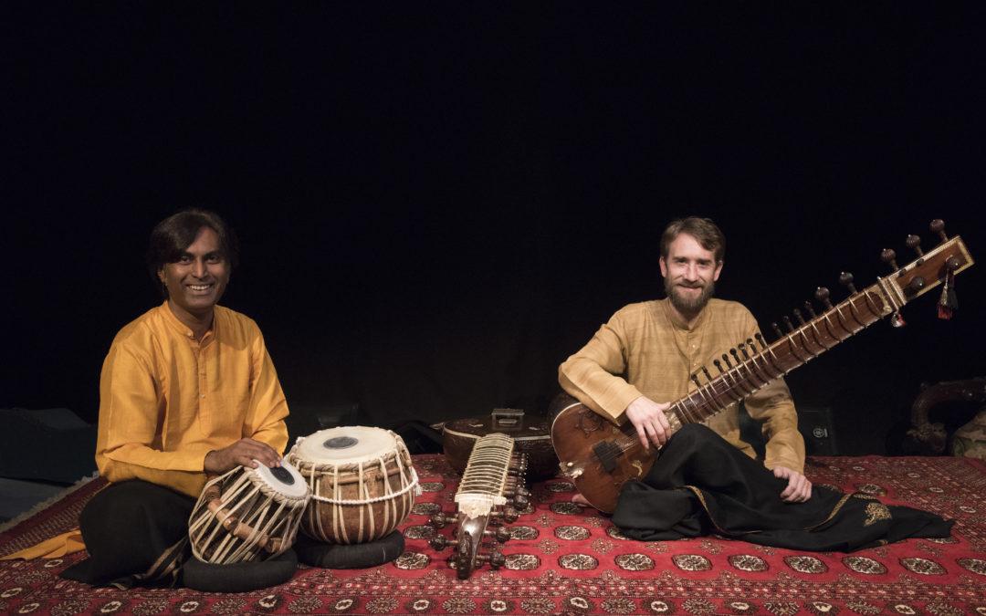 Concert de musique de l'Inde dimanche 14 avril